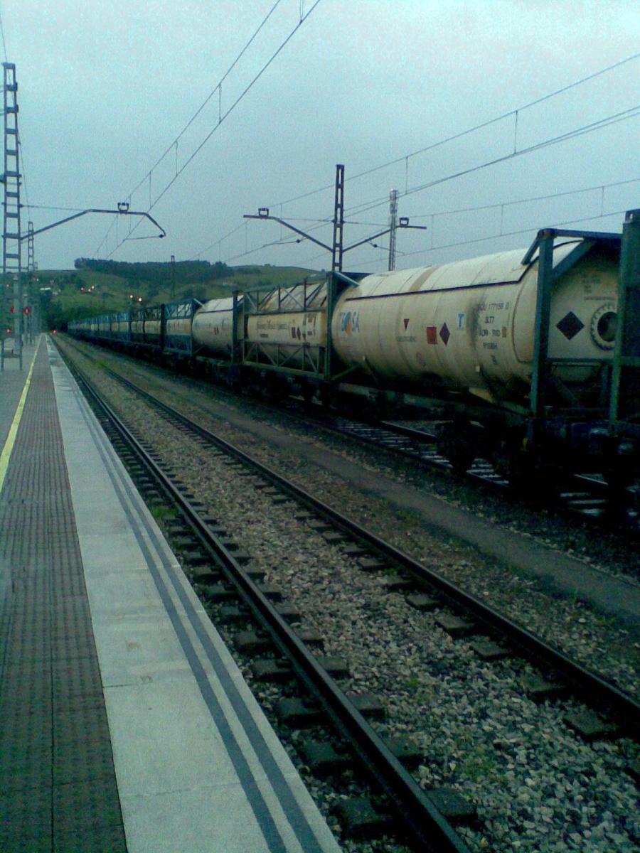 Vagón que paso la noche el día 24 de Agosto