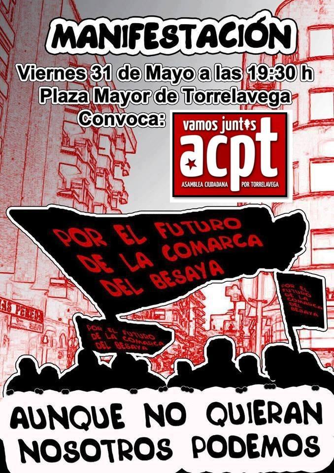 """Manifestación unitaria """"Aunque no quieran, nosotros podemos"""""""