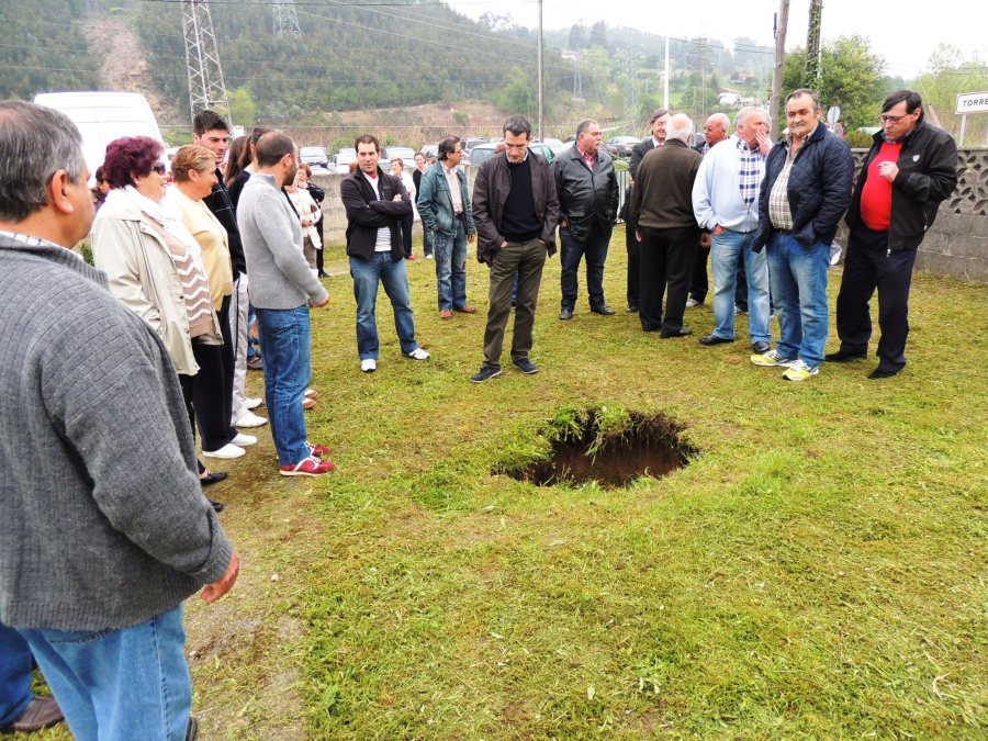 Socavón en La Turbera (7 de Mayo)c