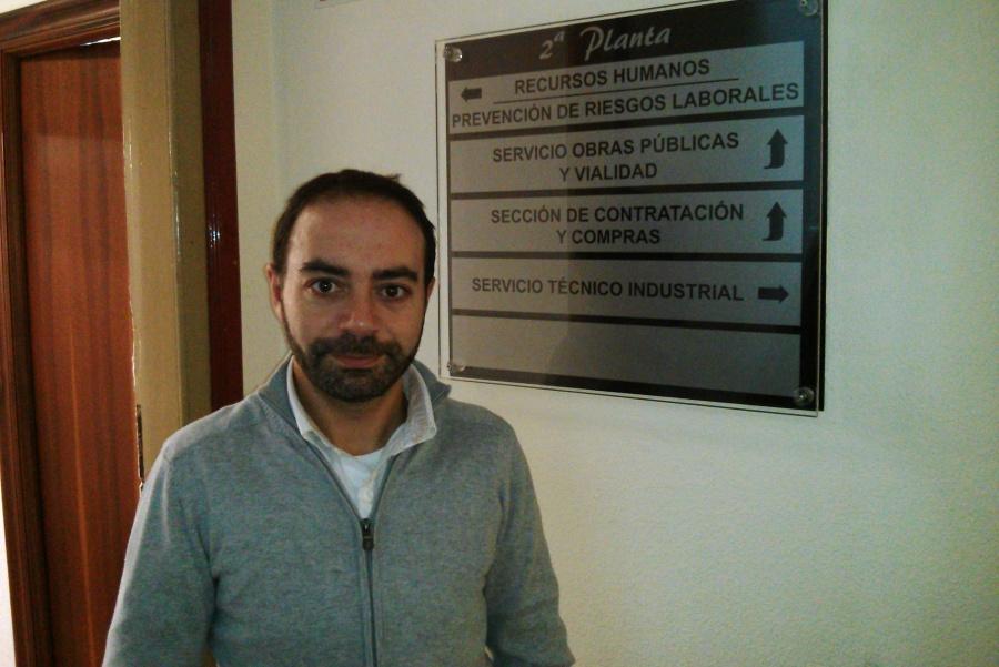 Iván Martínez, concejal de ACPT