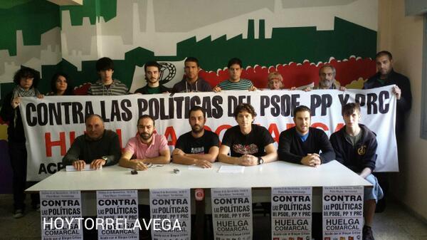 Foto de la rueda de prensa. Fuente: HoyTorrelavega
