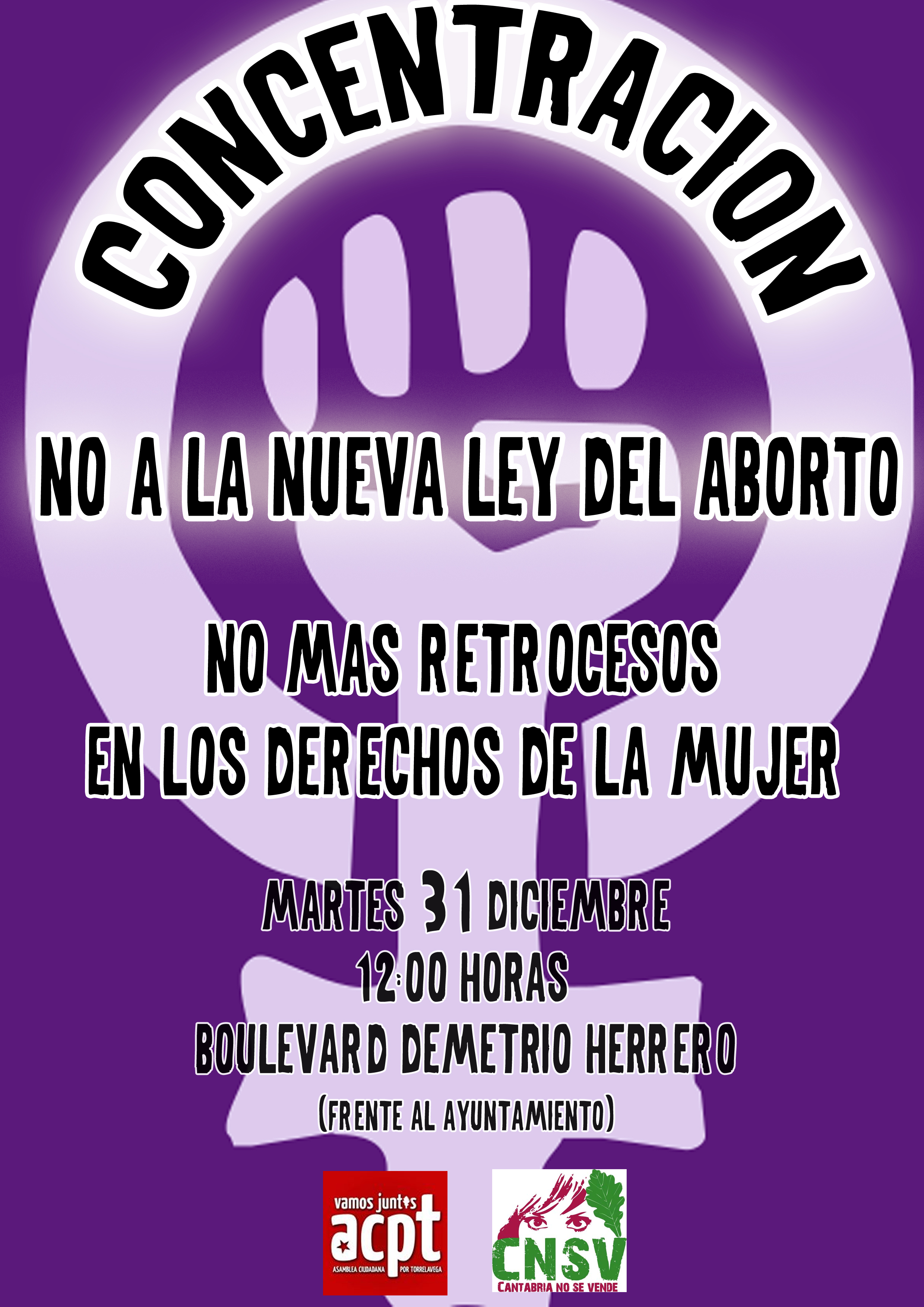 Concentración contra la Ley del Aborto y moción | Asamblea ...