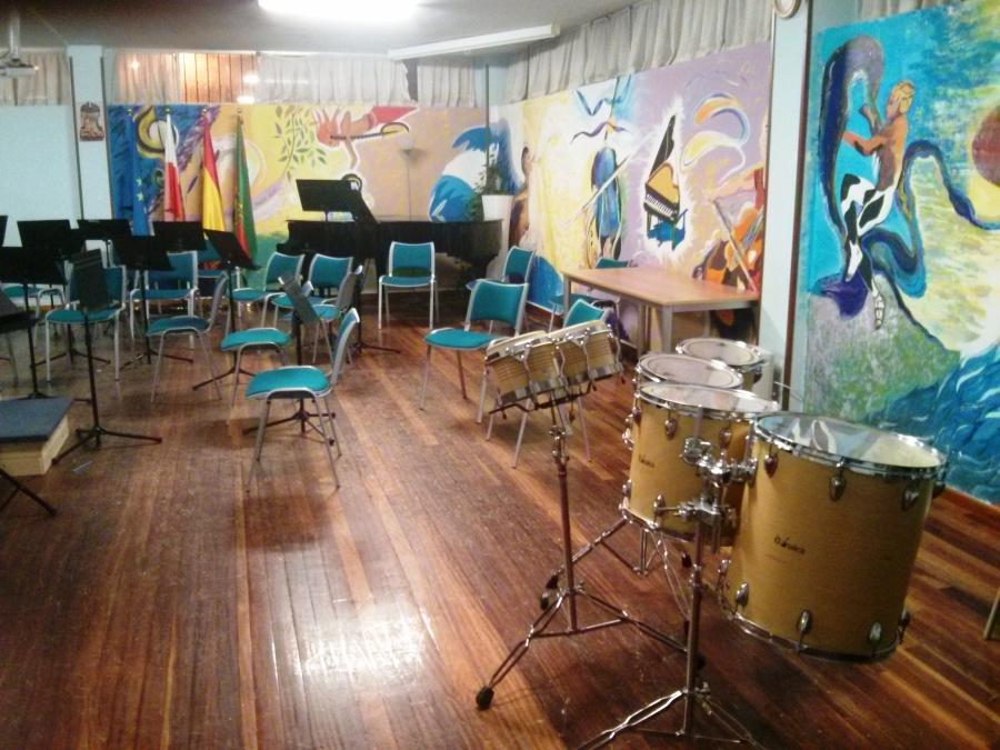 Raquítica sala de conciertos