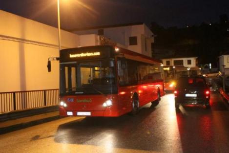 Autobús localizado en Barakaldo en Barreda y con los colores originales de Torrebús