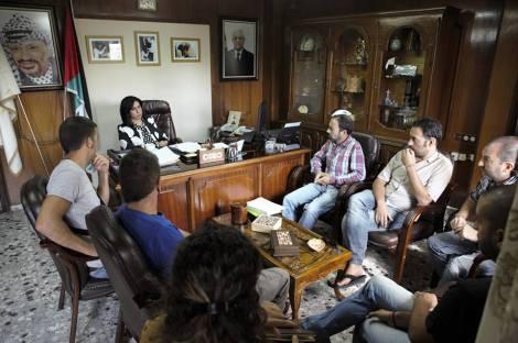 Entrevista con Vera Baboun, alcaldesa de Belén