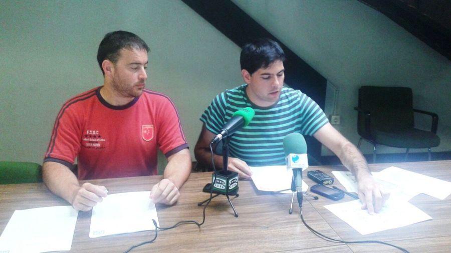 Nacho García y Javier Polanco explican la propuesta a los medios de comunicación
