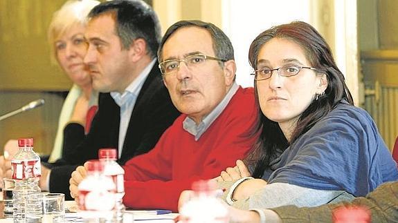 Ruiz Salmón, Cruz Viadero y sus dos predecesores en la lista Fuente: El Diario Montañés