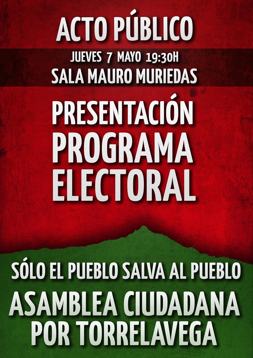 presentacin programa electoral